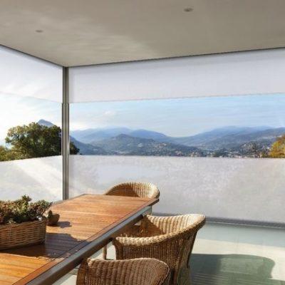 Sichfenster Fenster-Markisen mit ZIP-Führung